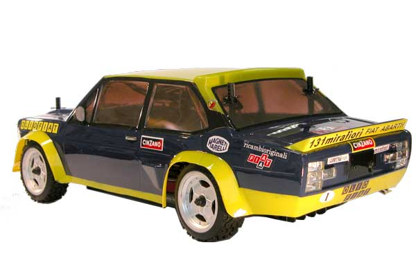 The Rally Legends Fiat 131 Oliofiat