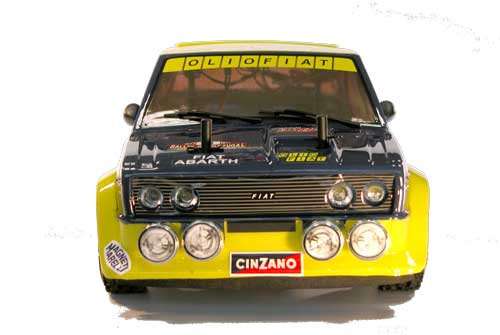 The Rally Legends by Italtrading Fiat 131 Oliofiat