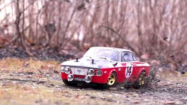 Fulvia HF 1600 videoemotion By The Rally Legends Italtrading Italy