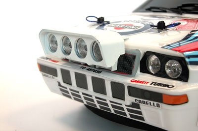 Lancia delta integrale additional lights