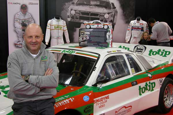 Miki Biasion The Rally Legends Fiera di Ve ona